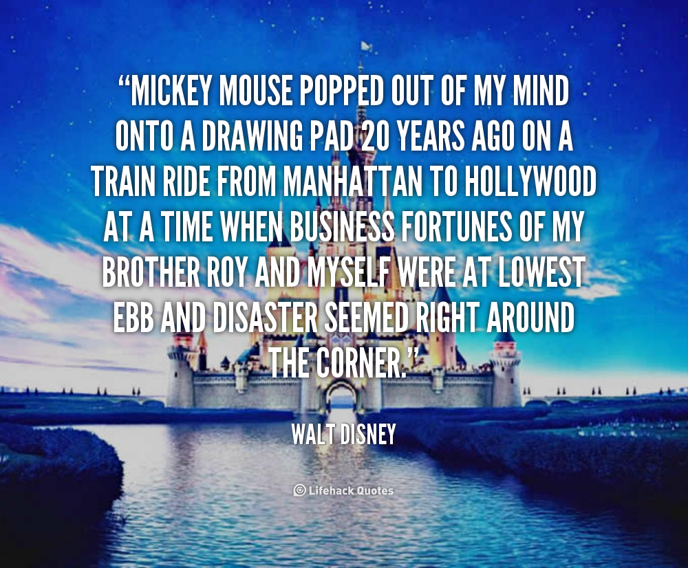 Quotes From Mickey Mouse: Disneyland Mickey Mouse Quotes. QuotesGram