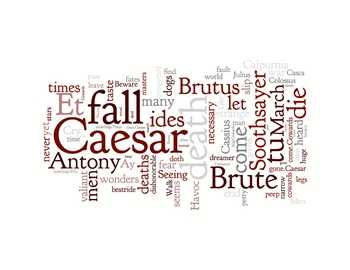 Difference between plutarchs and shakespeares caesar