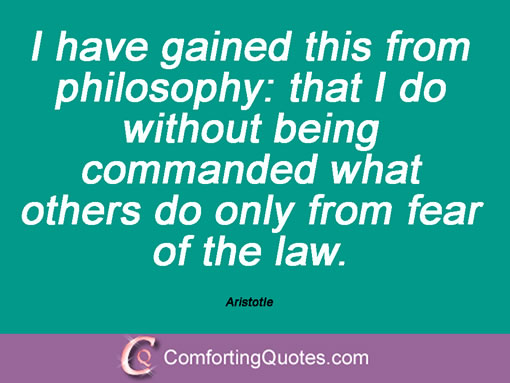 Aristotle On Education Quotes Quotesgram: Law Quotes By Aristotle. QuotesGram