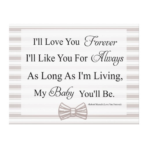 I Love You Quotes: Ill Love You Forever Quotes. QuotesGram
