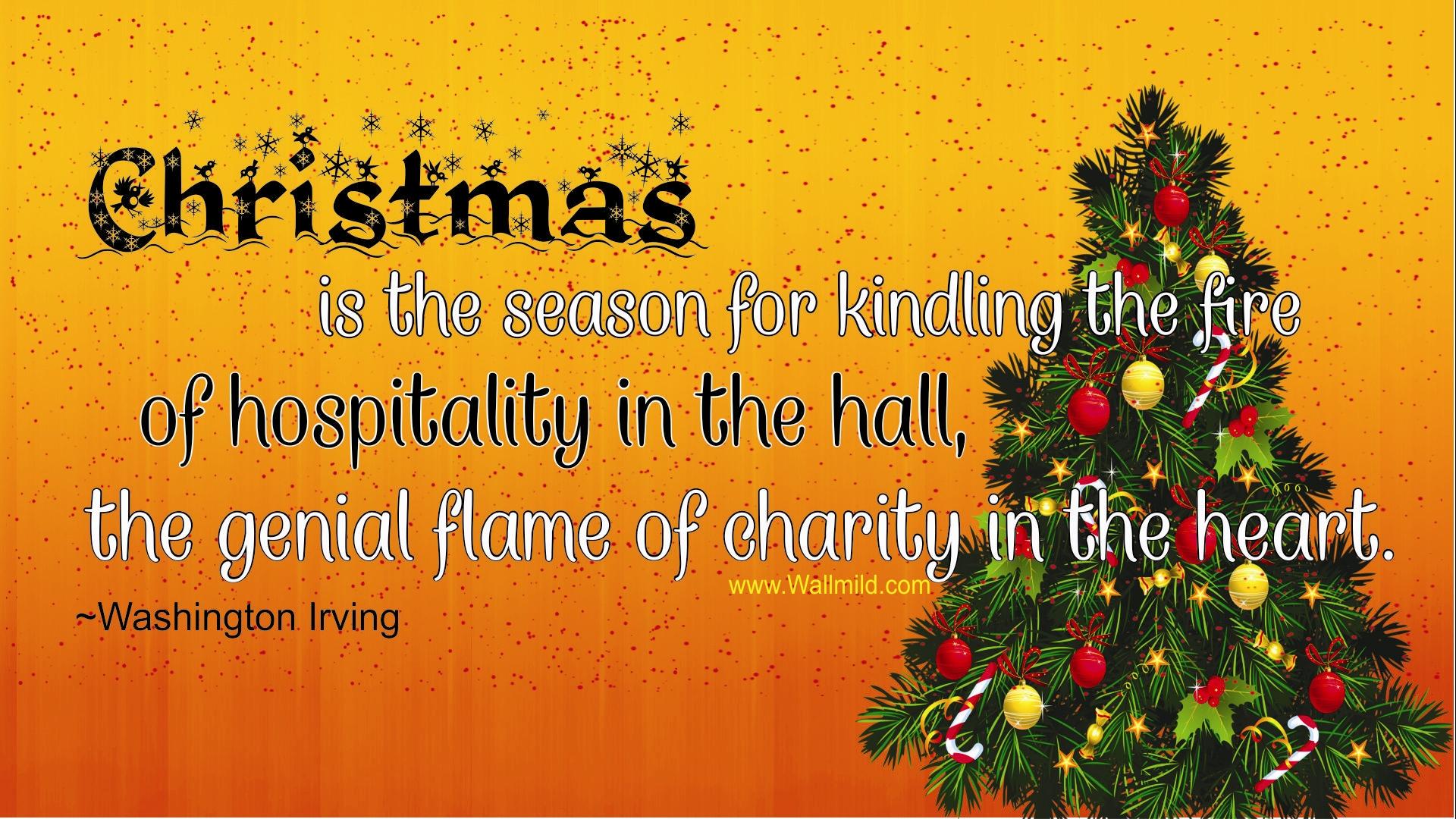 Christmas Quotes And Sayings: Holiday Season Quotes And Sayings. QuotesGram