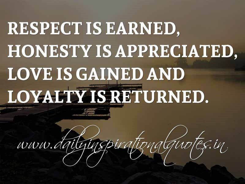 Loyalty Quotes Inspirational. QuotesGram