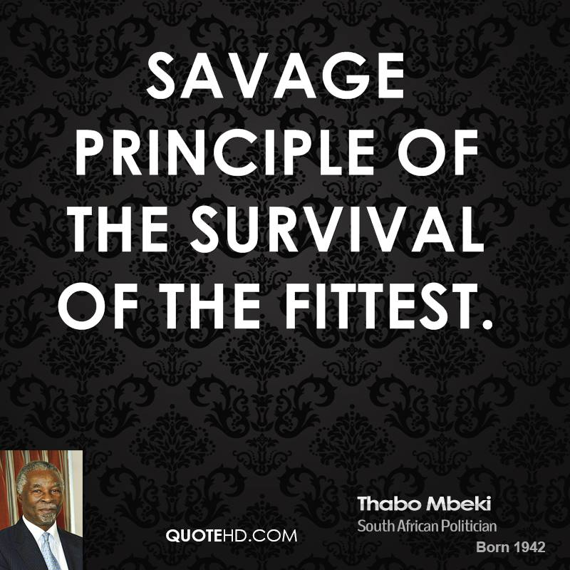 Survival Of The Fit Test Quotes. QuotesGram