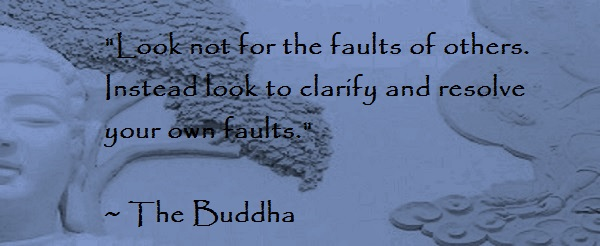 Buddha Find Fault Quotes. QuotesGram