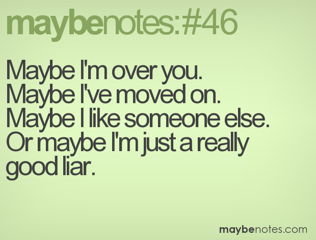 Im So Over You Quotes. QuotesGram
