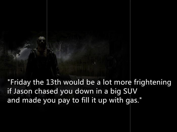 Quotes About Friday The 13th. QuotesGram