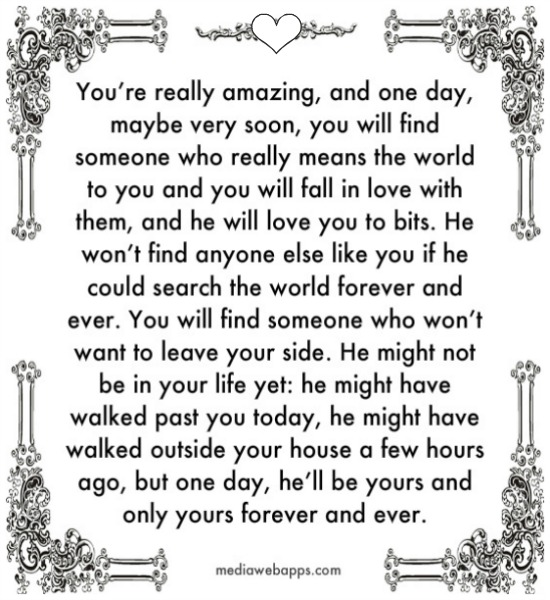 You mean the world to me quotes for him
