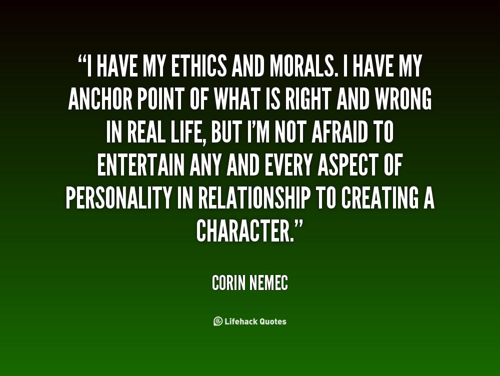 ethics quotes quotesgram