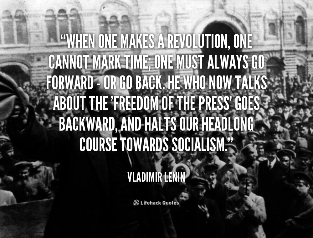 Famous revolutionary quotes