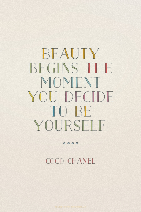 coco chanel quotes about beauty quotesgram