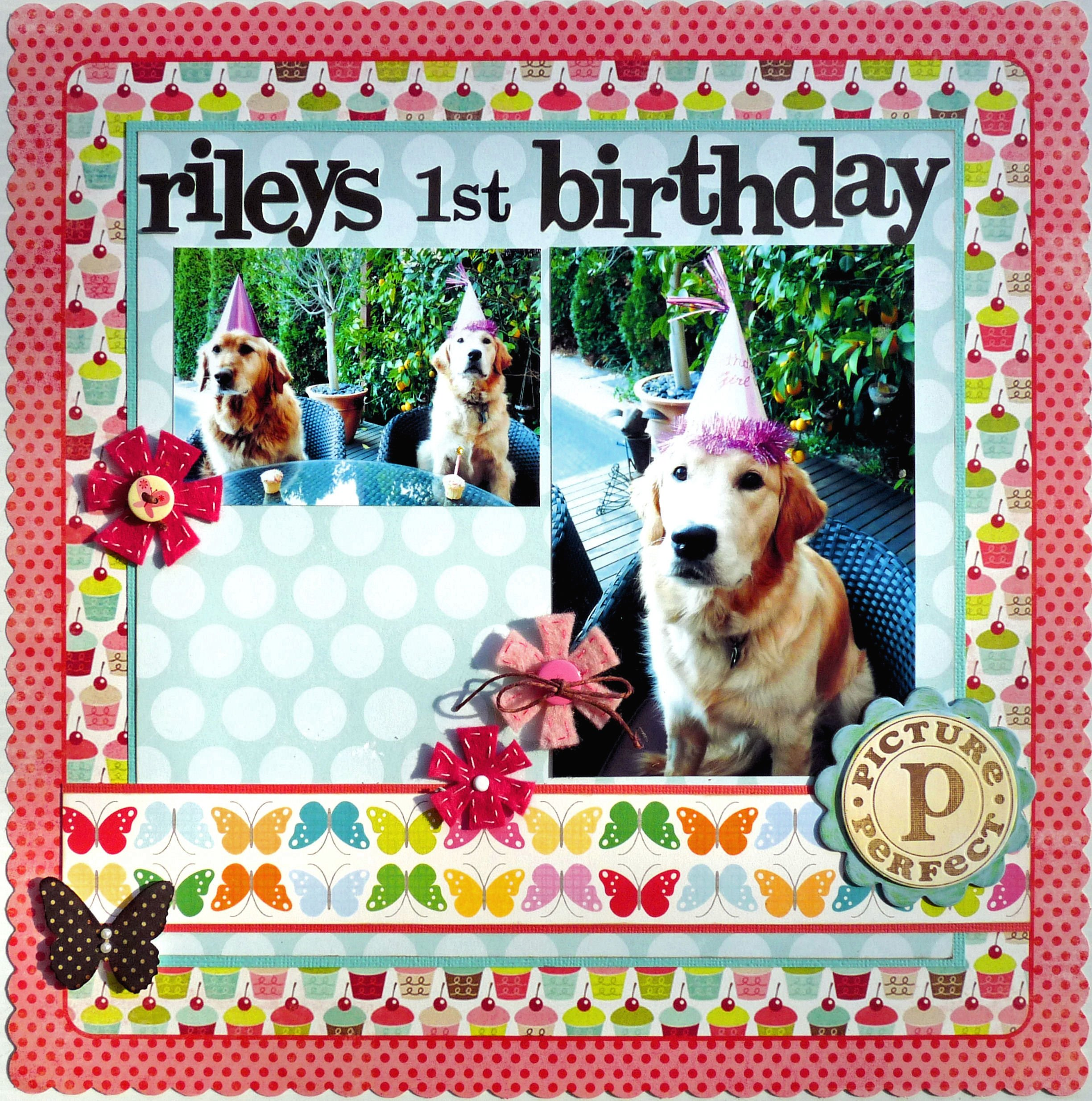First Birthday Quotes For Scrapbooking. QuotesGram