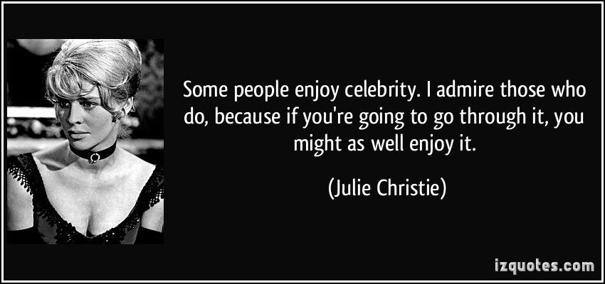 celebrity i admire most essay