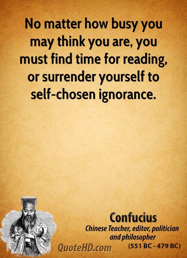 Ignorance Confucius Quotes. QuotesGram