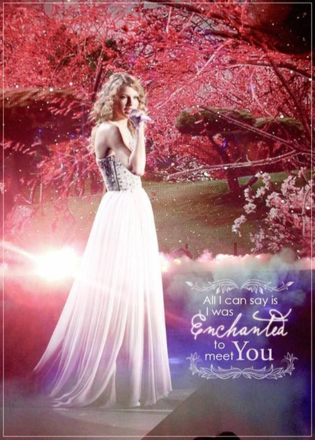 Enchanted Taylor Swift Quotes Quotesgram