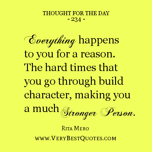 quotes about making it through hard times quotesgram