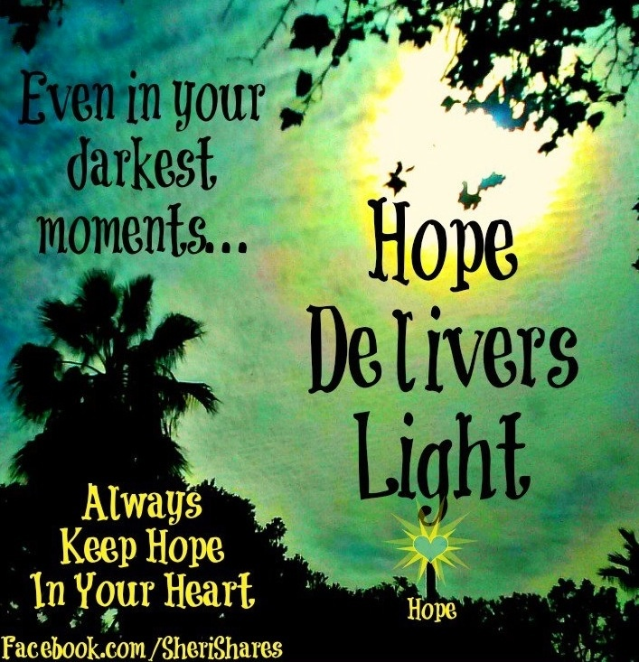 Quotes About Hope: Quotes About Hope And Light. QuotesGram