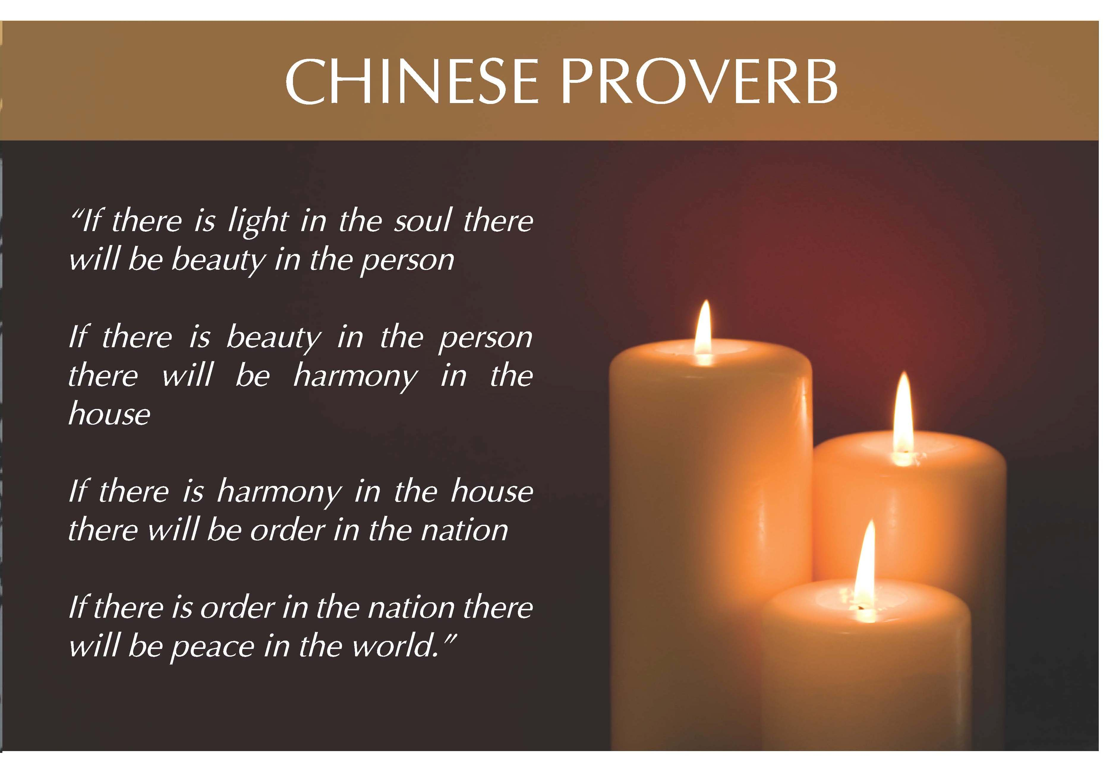 60 Chinese Proverbs, Sayings & Quotes on Life and Family ...  |Chinese Sayings And Quotes