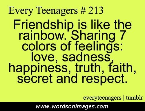 Friendship Quotes For Teenage Girls Teenage Friends...