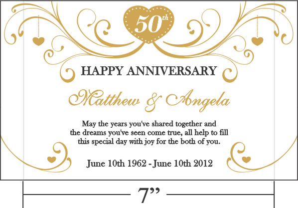 Golden Wedding Anniversary Gift: Golden Anniversary Quotes For Parents. QuotesGram