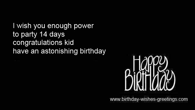 14th Birthday Quotes For Boys. QuotesGram