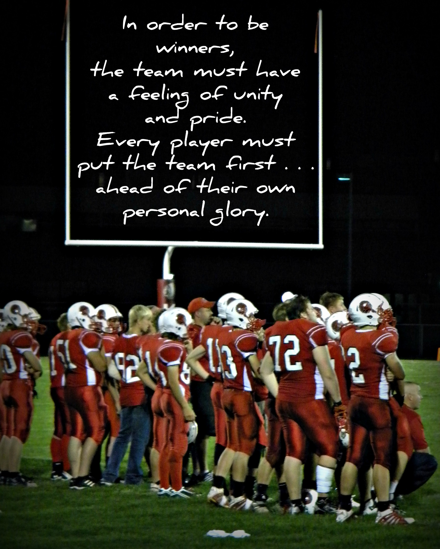Motivational Quotes For Sports Teams: High School Sports Team Quotes. QuotesGram
