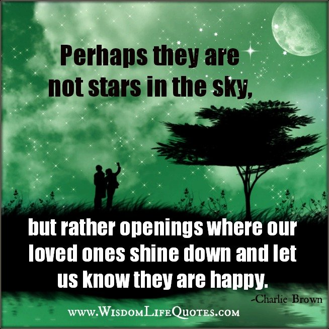 Heaven Quotes For Loved Ones: Quotes About Loved Ones In Heaven Watching Over Us. QuotesGram