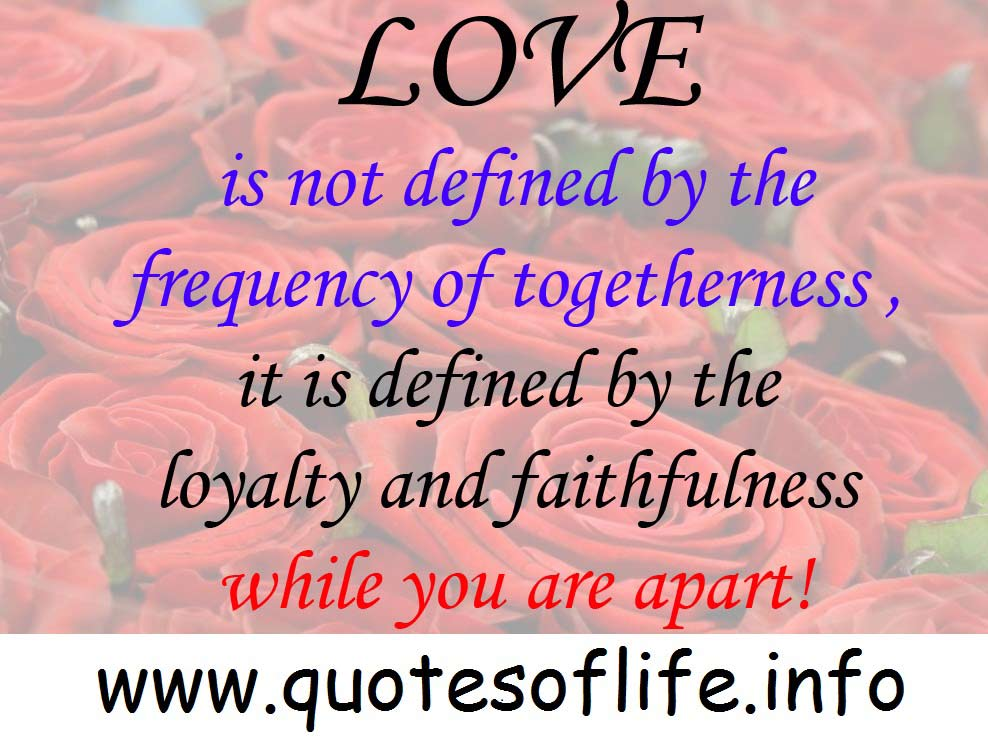 Quotes About Love And Togetherness. QuotesGram