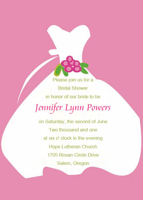 Quotes For Bridal Shower Invitations