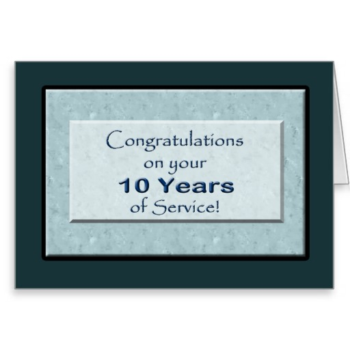 10 Years Of Service Quotes. QuotesGram