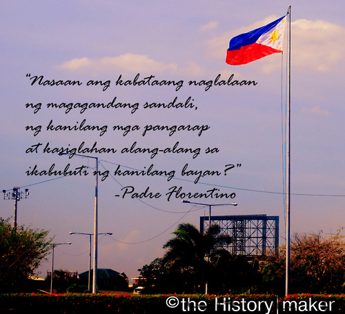brindis by jose rizal quotes Quotes about rizal his dr jose rizal and the other victims of the past spanish domination, i declare the 30th of december as a national day of mourning.