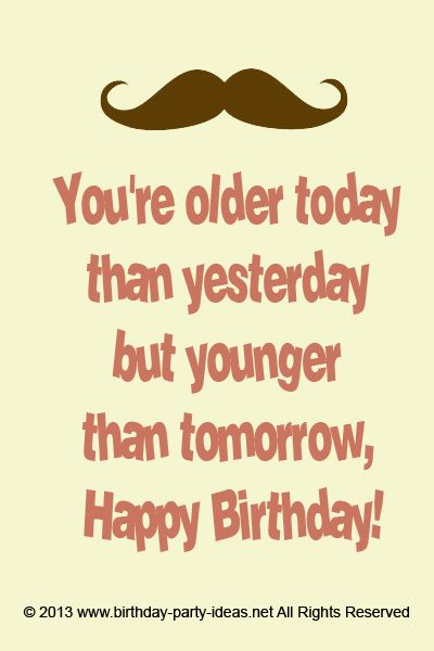 Remarkable Cool Mustache Birthday Quotes Quotesgram Personalised Birthday Cards Petedlily Jamesorg