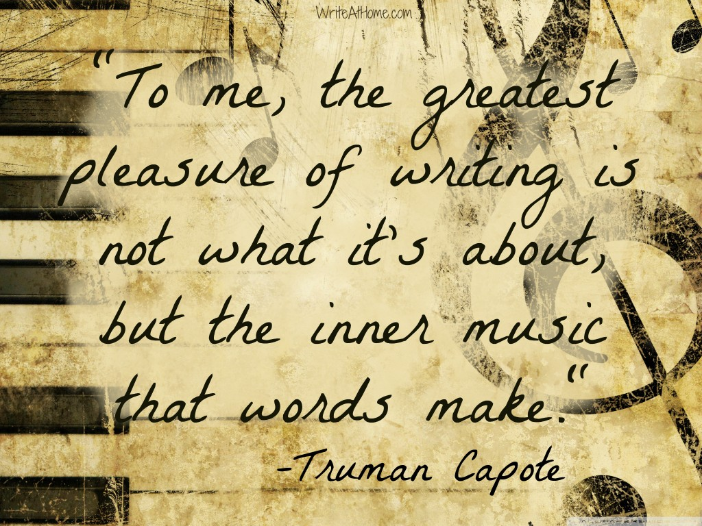 truman capote quotes on writing quotesgram