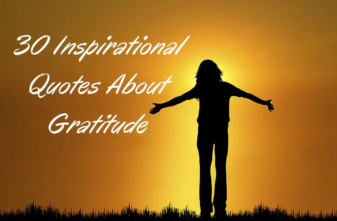 Inspirational Quotes Gratitude. QuotesGram