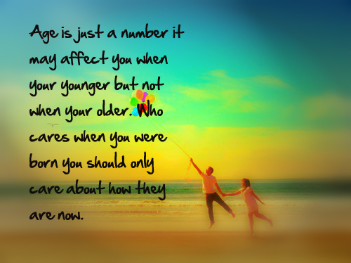 Birthday Quotes Age Is Just A Number. QuotesGram