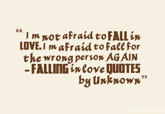 Quotes About Falling In Love With The Wrong Person. QuotesGram