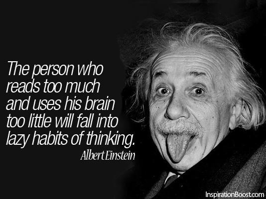 Albert Einstein Quotes...