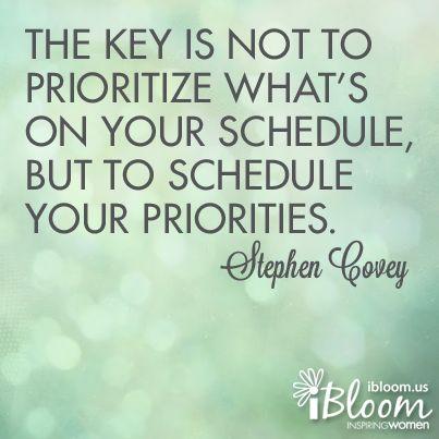quotes about priorities quotesgram