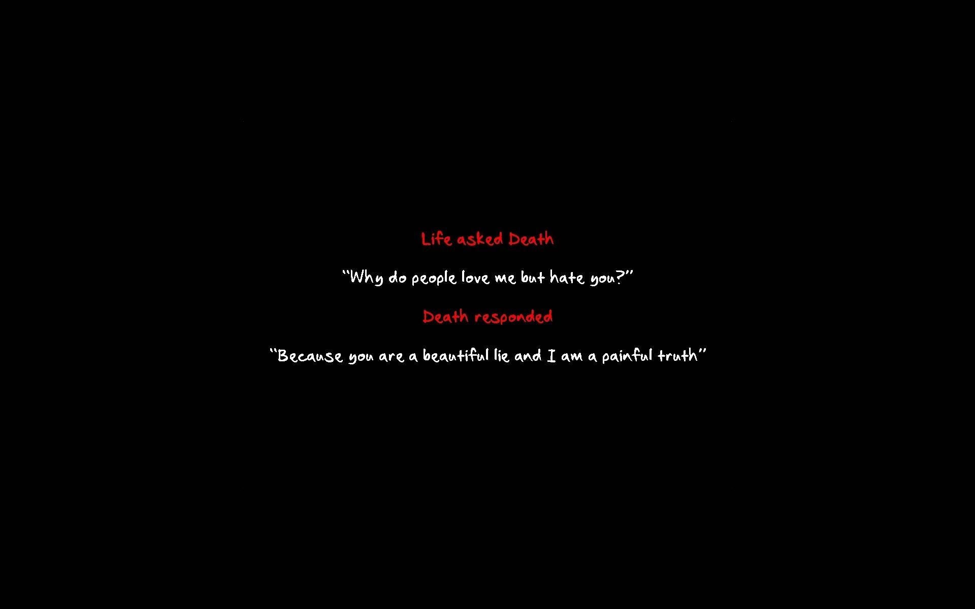 Depressing Quotes About Death. QuotesGram