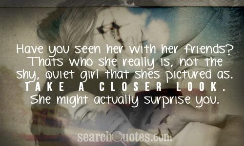 Quotes About Shy Girls. QuotesGram