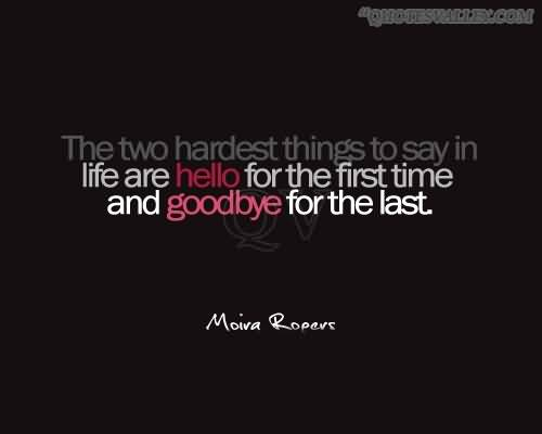 Final Goodbye Death Quotes. QuotesGram