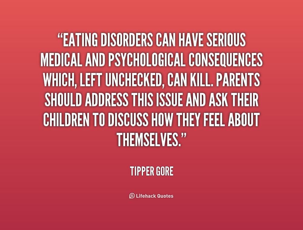 Quotes About Anorexia....