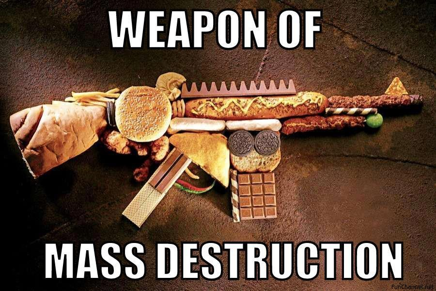 weapons of destruction