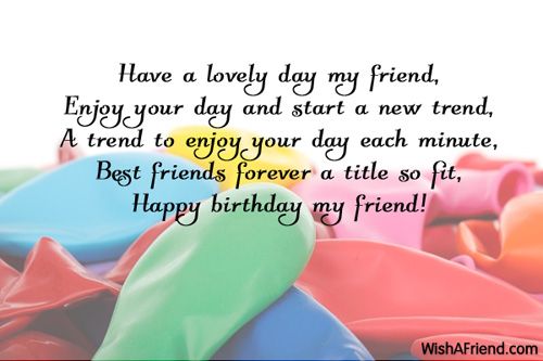 Birthday Quotes For New Friends Quotesgram