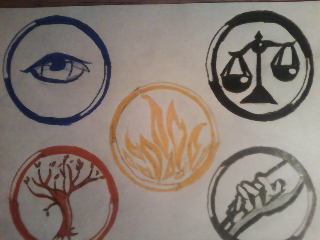 divergent symbols and meanings - HD1024×768