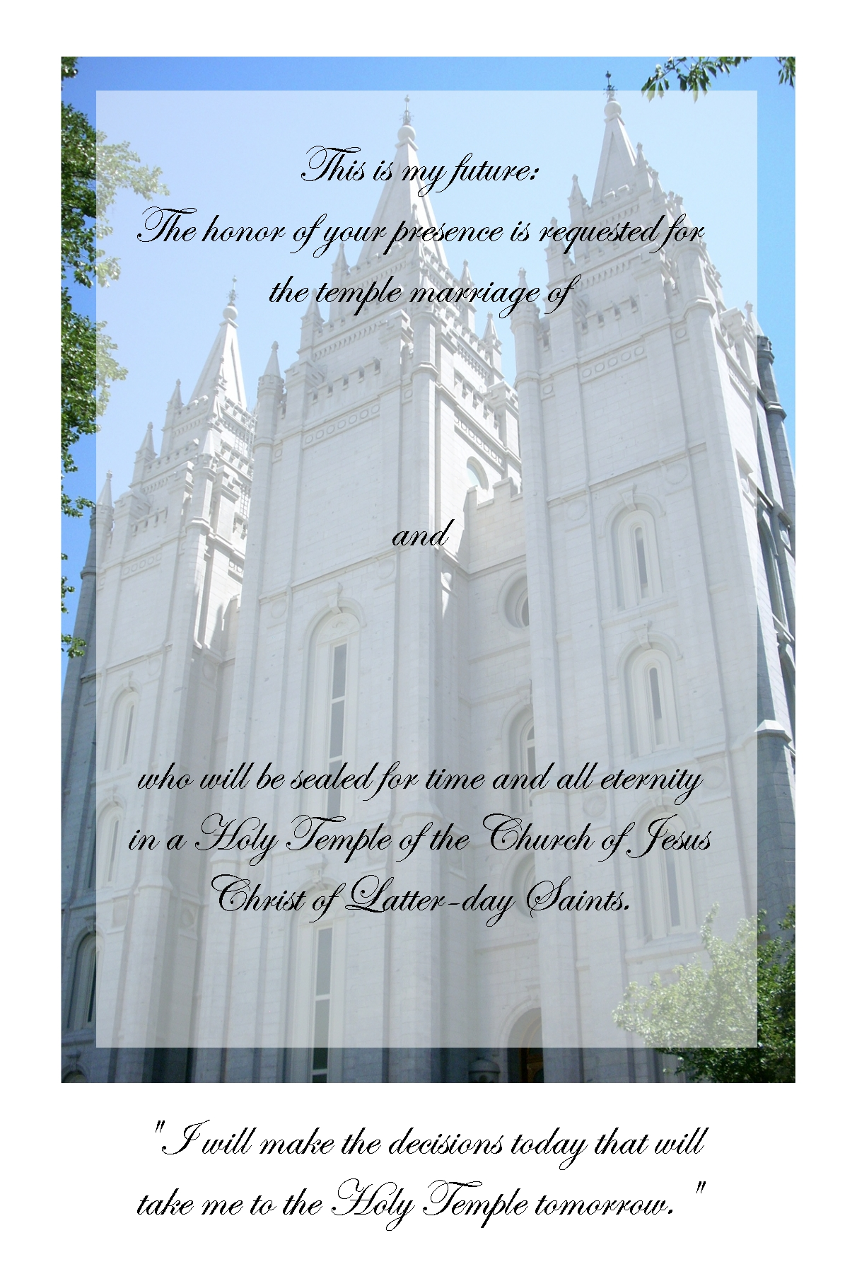 wedding invitations lds temples  new wedding, invitation samples