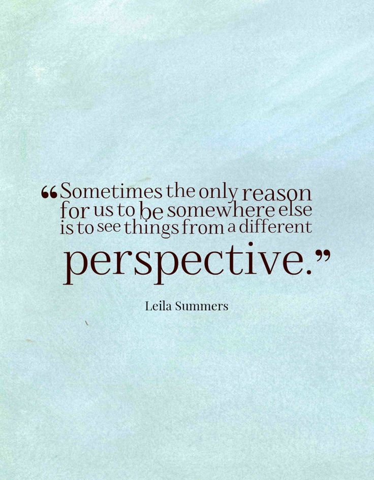 Quotes About Different Perspectives. QuotesGram