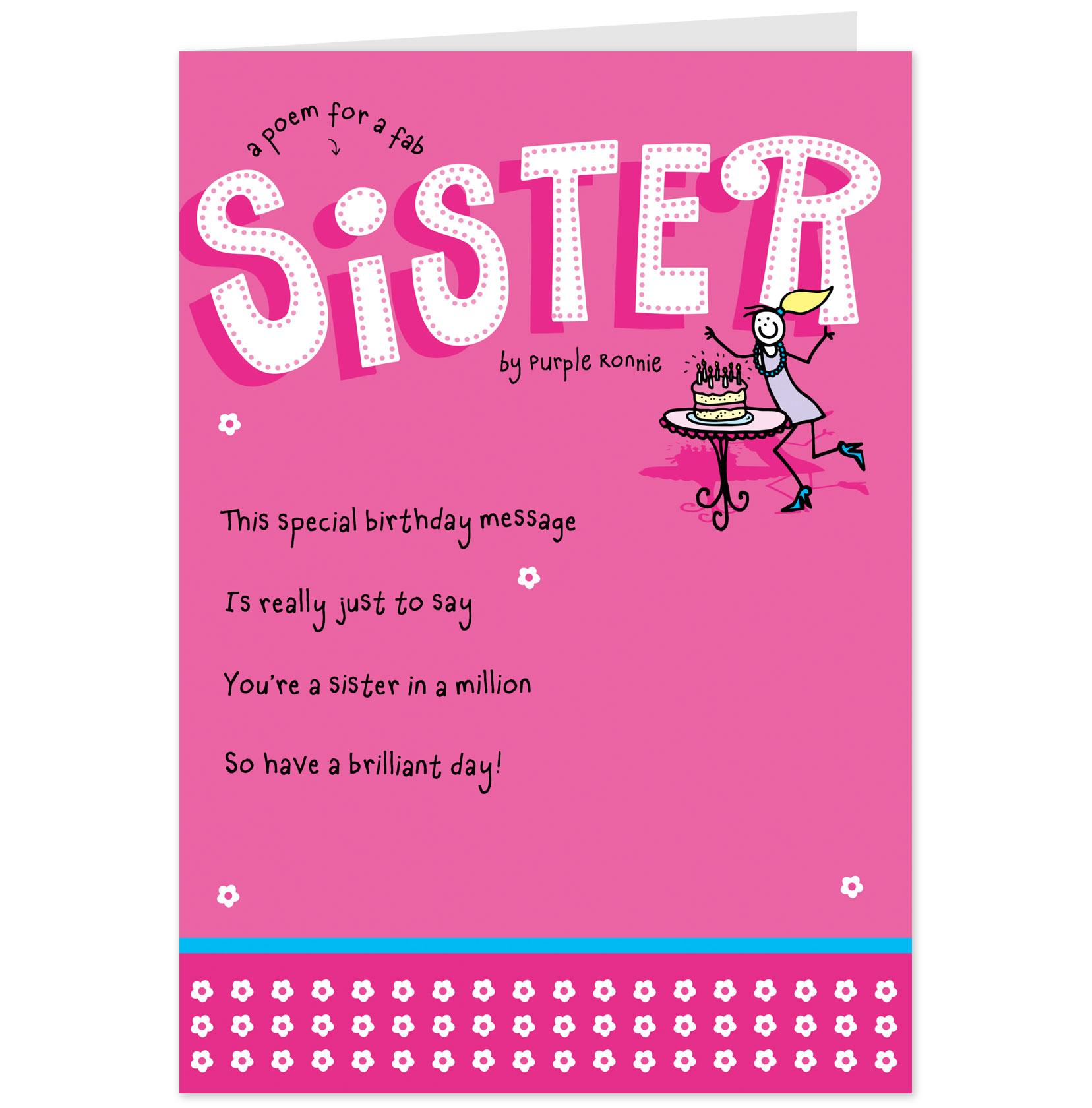 Happy Birthday Universe Quotes: Funny Sister Quotes. QuotesGram