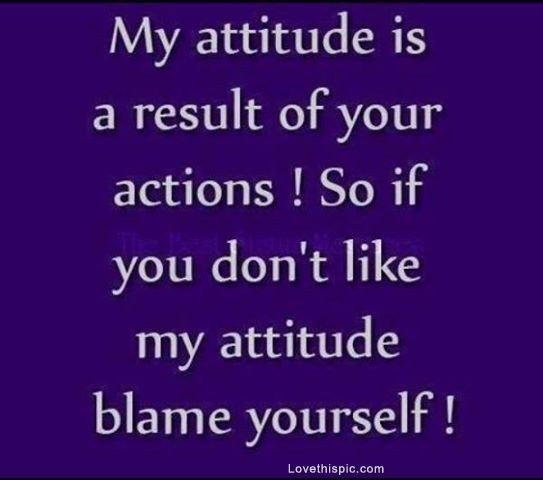Funny Quotes And Sayings Attitude