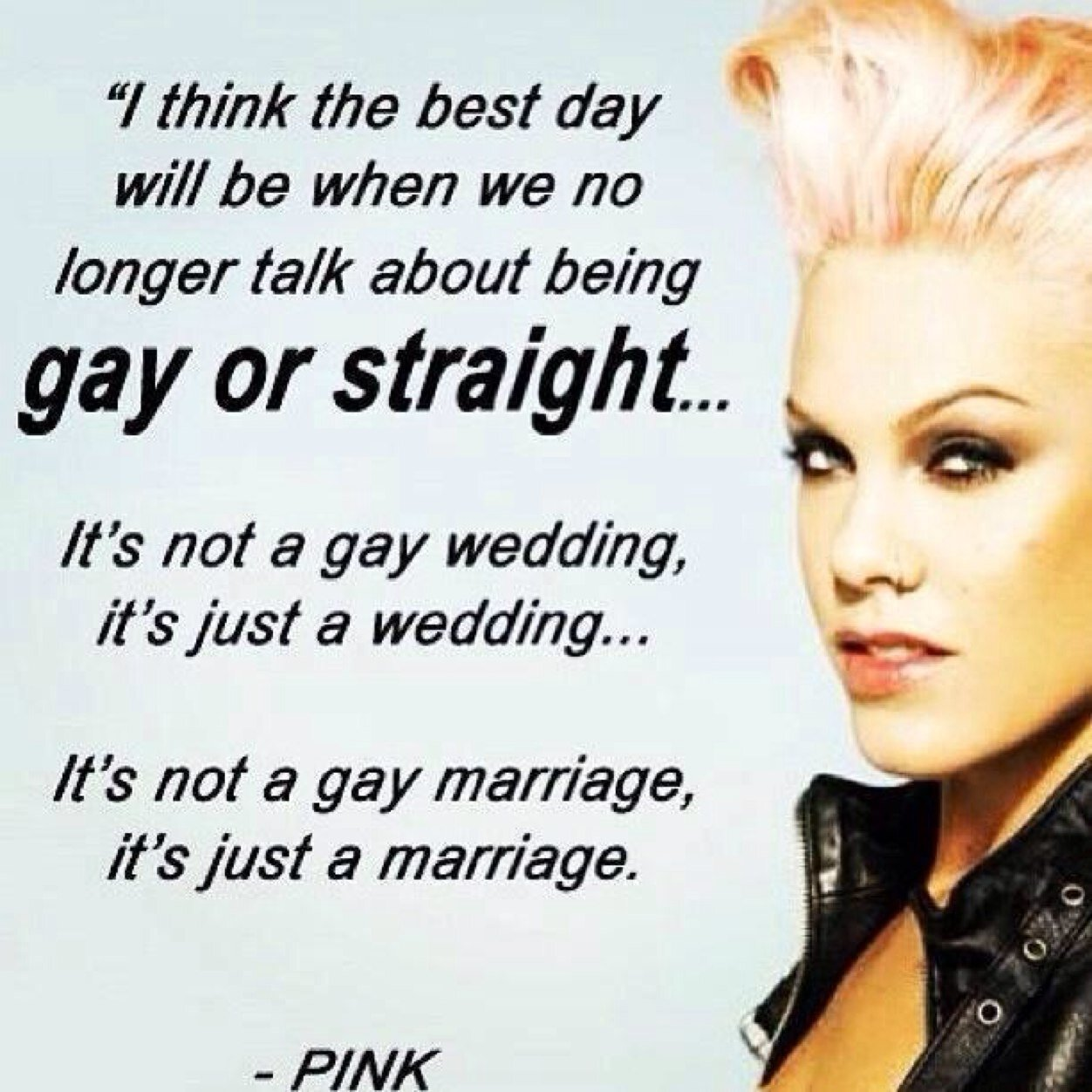 Famous Celebrity Wedding Quotes: Pink Singer Famous Quotes. QuotesGram