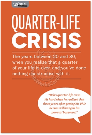 quarter-life crisis essay Are the midlife crisis years the only time we search for meaning re-story your life by cecilia dintino psyd on january 29, 2018 in midlife matters what's your re.